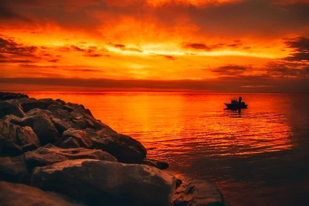 alabama-state-parks-fishing-sunset