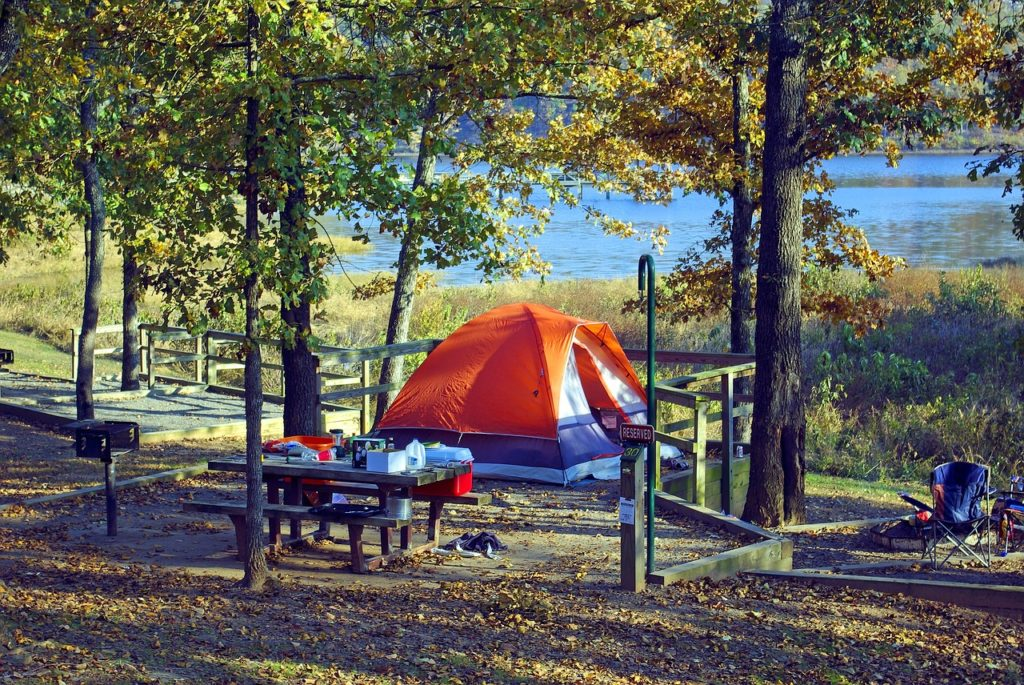 tent-at-woolly-hollow-arkansas