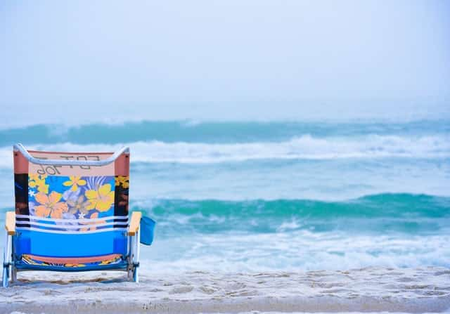 low profile beach chair