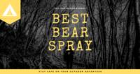 best bear spray banner