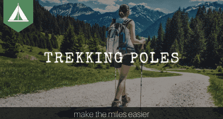 trekking poles banner