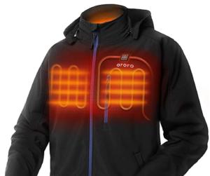 best heated jacket ORORO Soft Shell Jacket