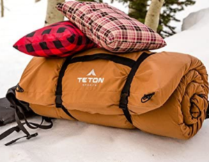 best camping pillow 2 teton