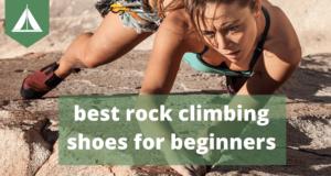 best rock climbing shoes beginners