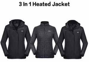best heated jacket for women 7 Venustas 3 in 1