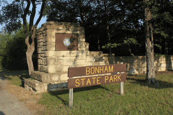 Bonham State Park Texas
