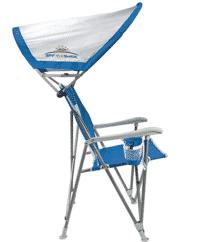 CGI Outdoor SunShade Beach Chair with Canopy