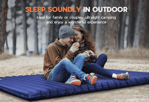 Hikenture Double Camping Pad for Couples