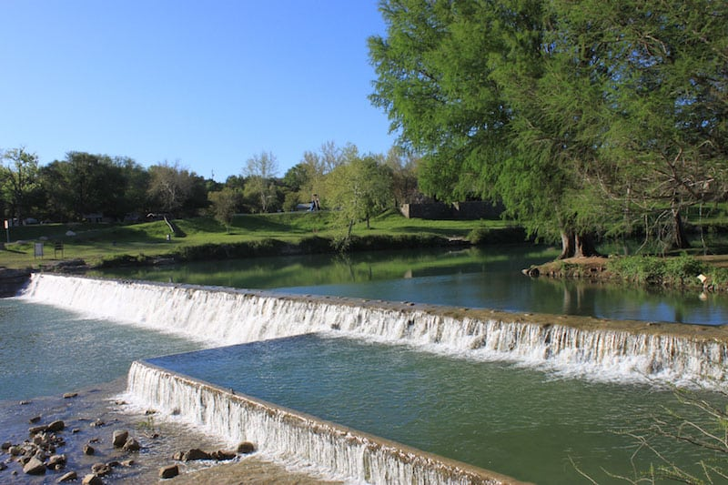 swimming blanco state park texas
