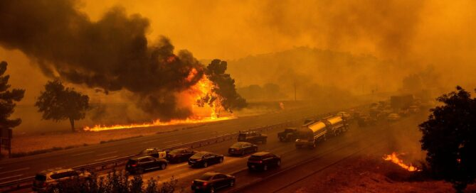 State Fire (AP Photo:Noah Berger)