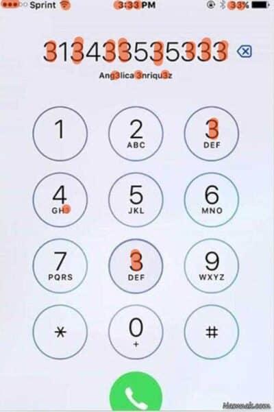 how many 3 answer