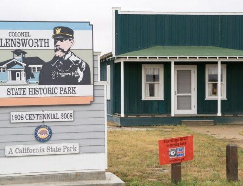 Re-dedication ceremony at Col. Allensworth State Historic Park