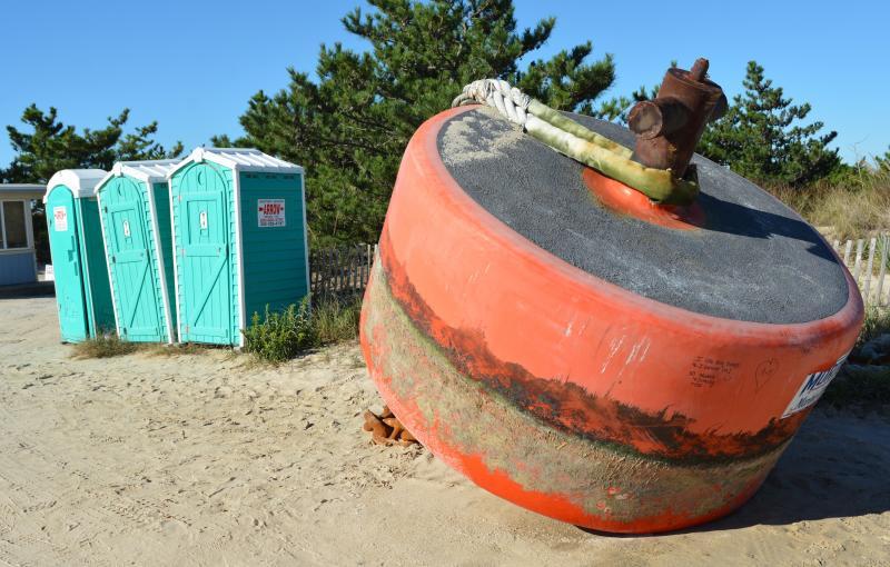 Murtech buoy Delaware Seashore State Park