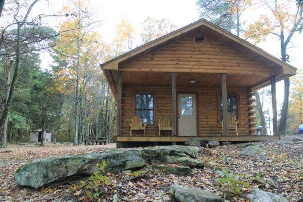 Primitive Camping Cabin