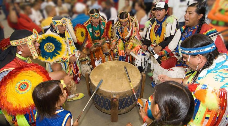indigenous drum