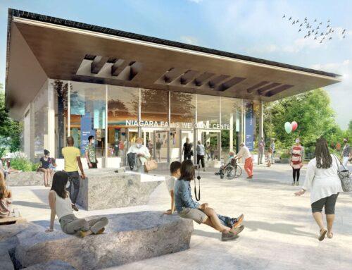 $46m Niagara Falls State Park Welcome Center already being built