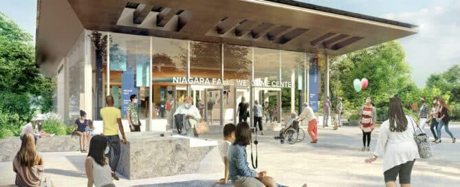 new niagara falls welcome center