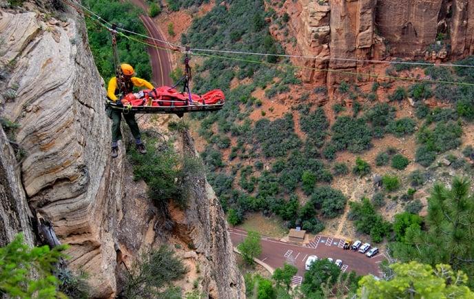 rescue Zion National Park