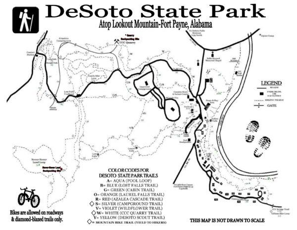 trail map DeSoto